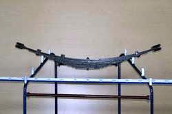 Грузовая рессора - основная часть автомобильной подвески